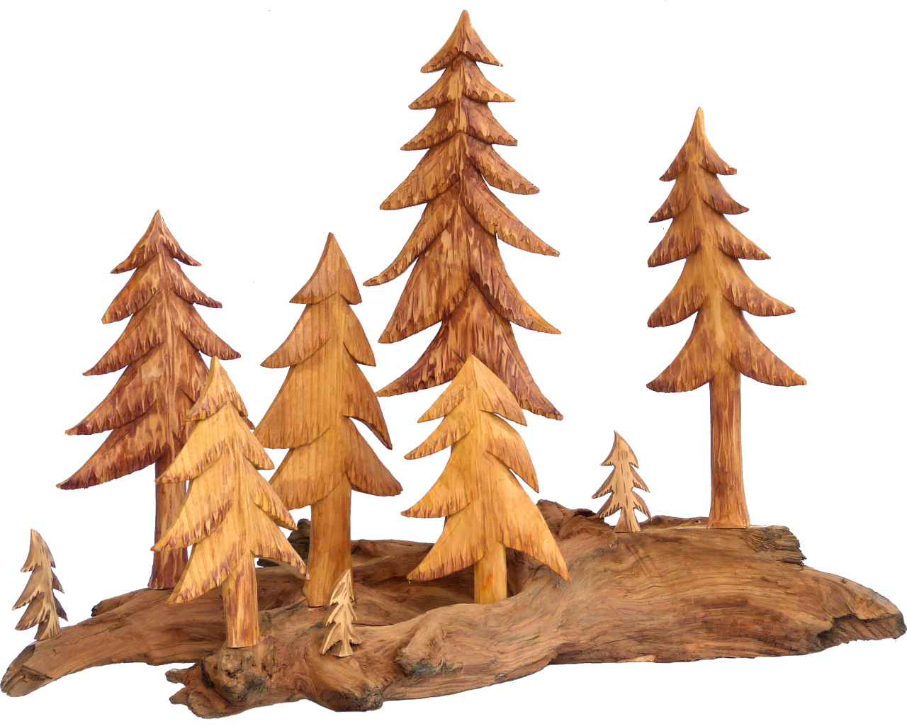 Baumgruppe groß