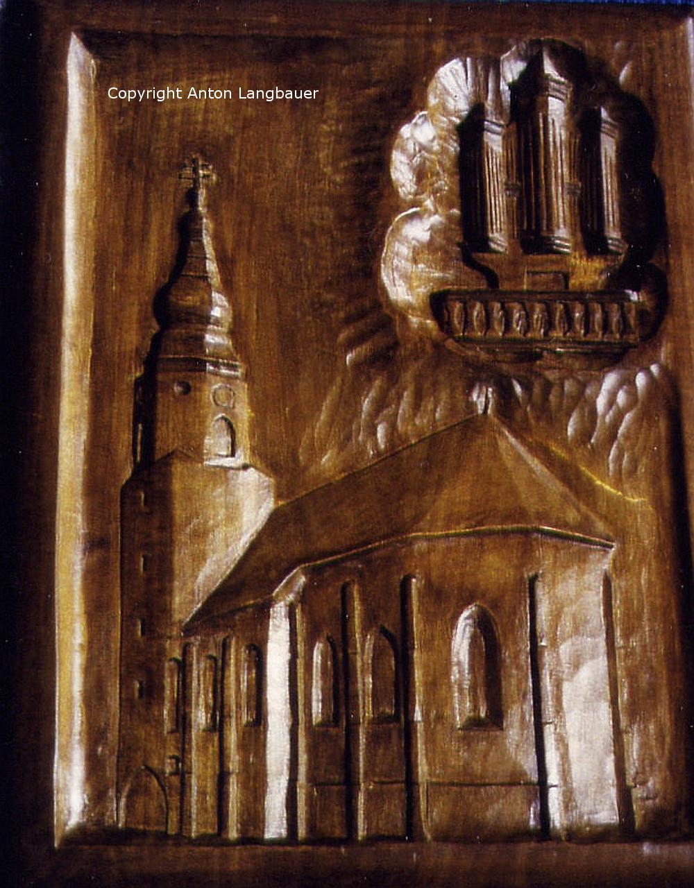 Kirche Esternberg mit neuer Orgel