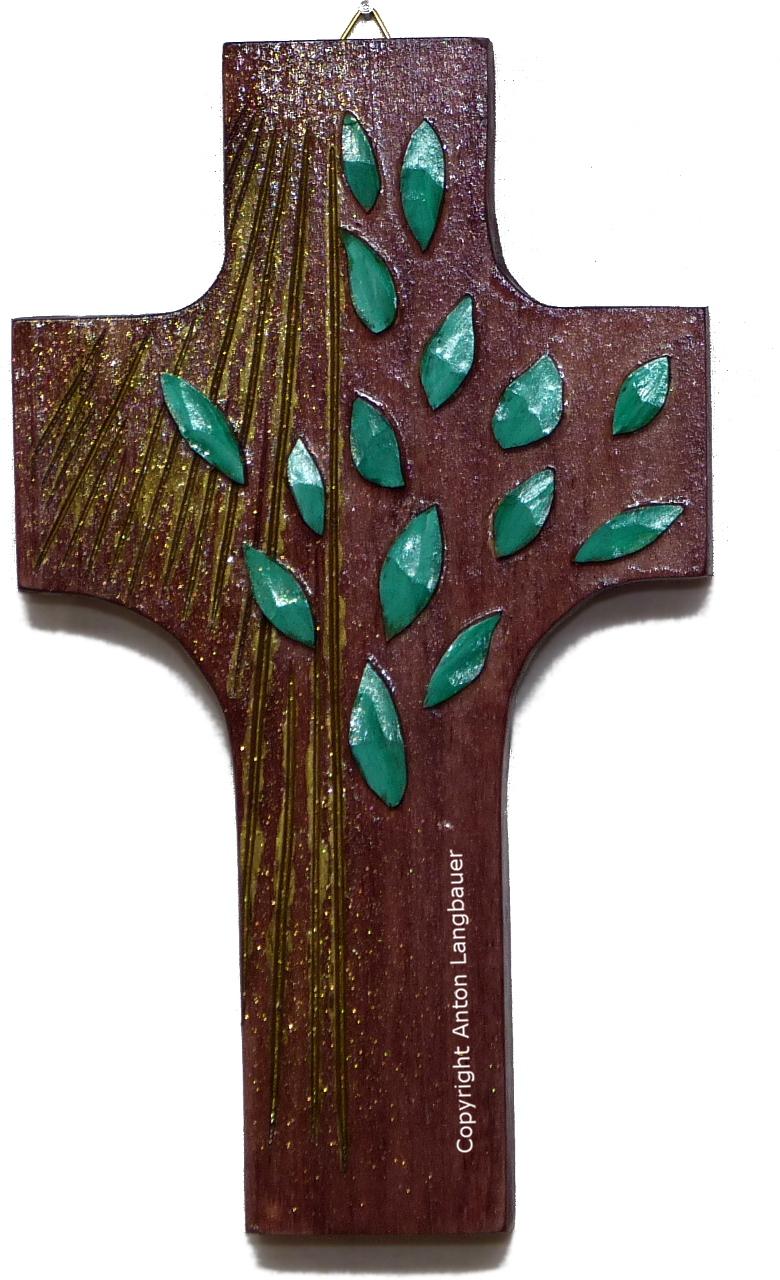 Lebensbaumkreuz dunkel