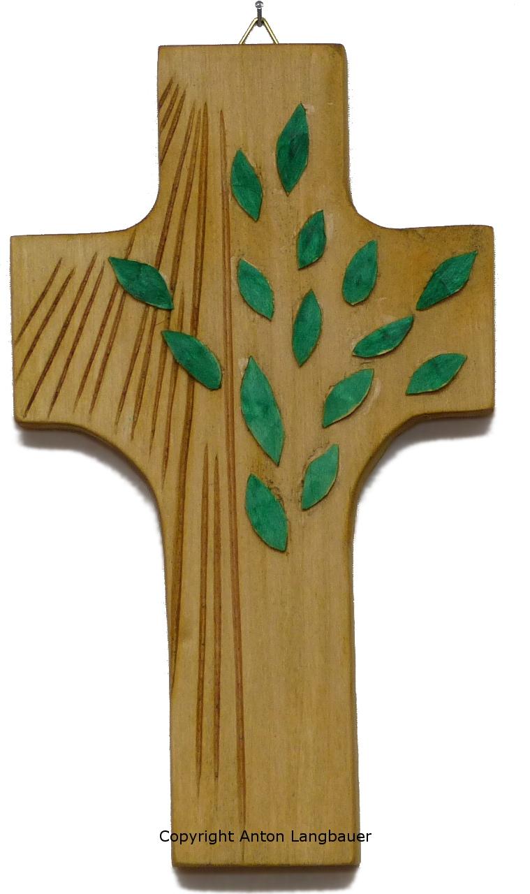 Lebensbaumkreuz hell