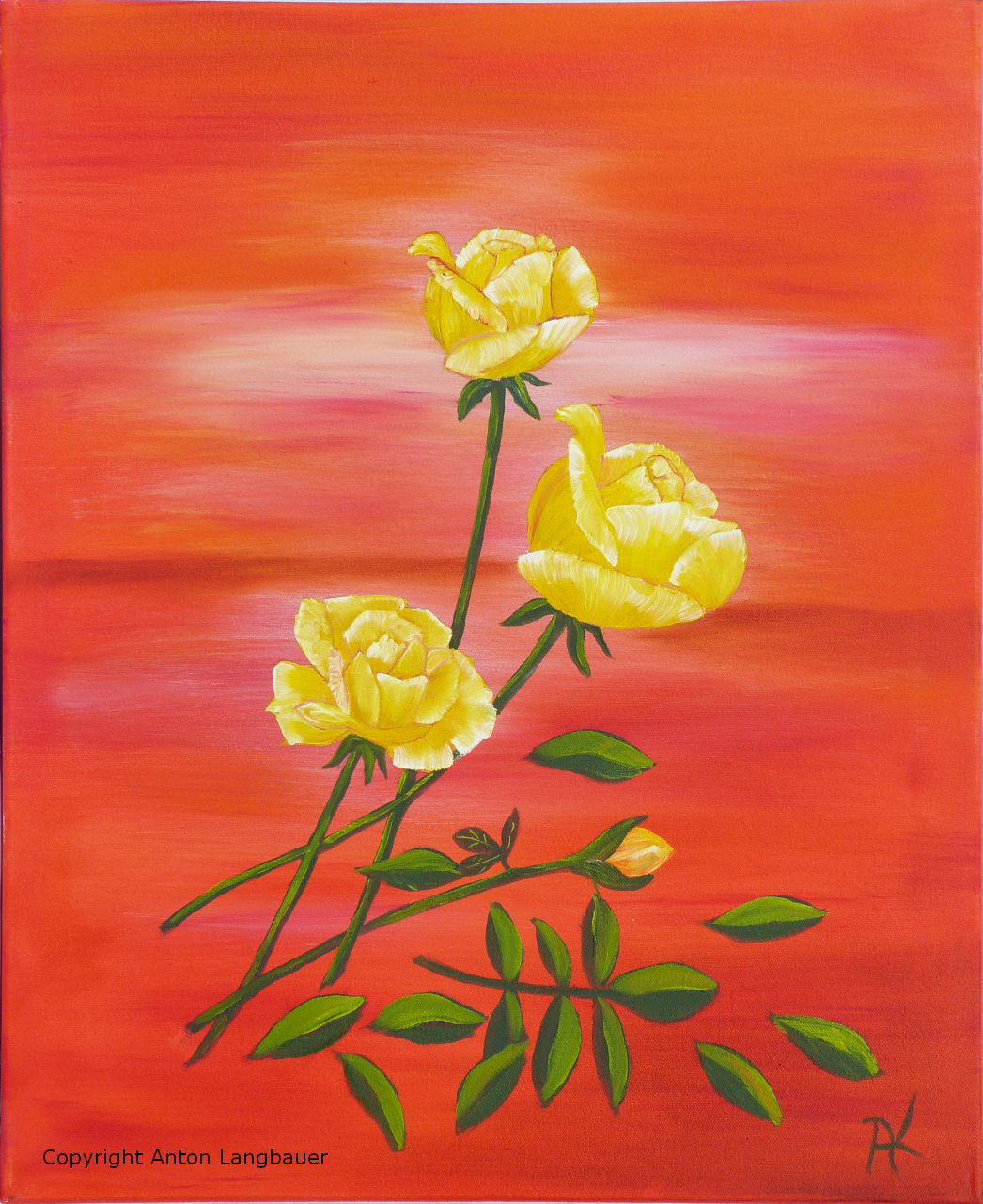 Rosen gelb